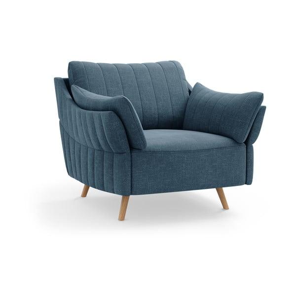 Niebieski fotel Interieurs 86 Elysée