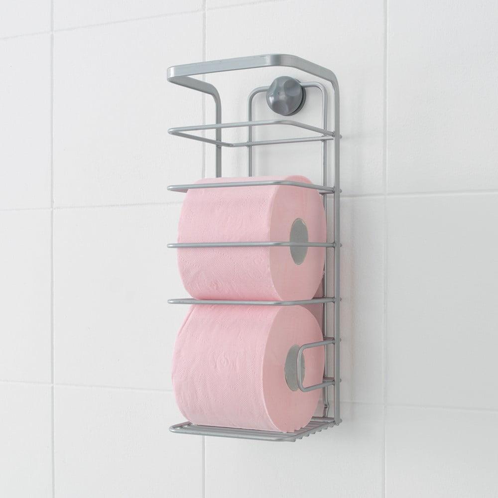 Nástěnný stojan na toaletní papíry Metaltex Viva!