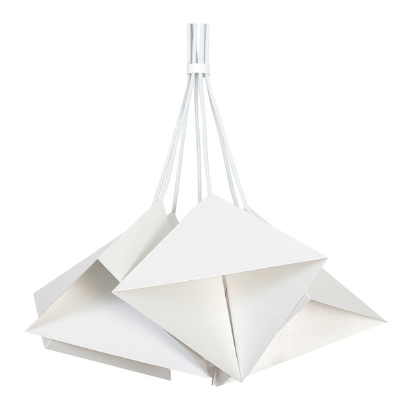 Bílé závěsné svítidlo Evergreen Lights Suspension Lamp Set