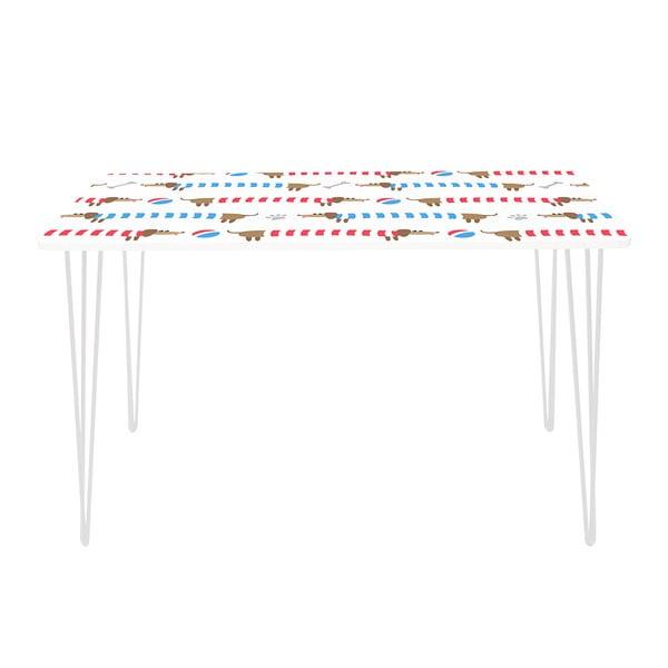Pracovní stůl Long Dachshund