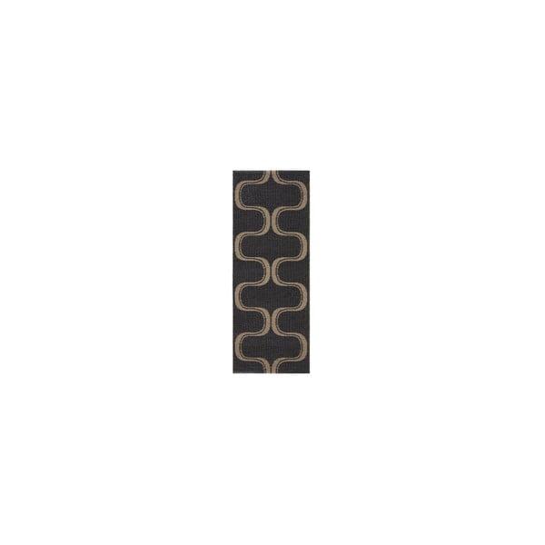 Vysoce odolný koberec Waves V7, 60x190 cm