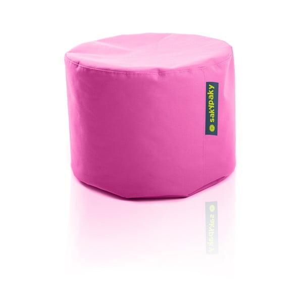 Sedací vak Taburet, růžový
