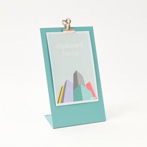 Modrý rámeček na fotku Clipboard Medium