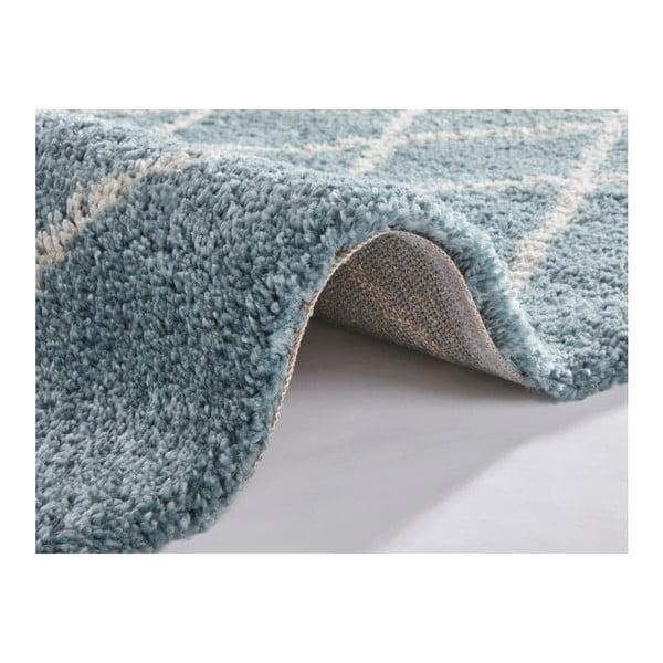 Modro-krémový koberec Mint Rugs Allure, 80 x 150 cm