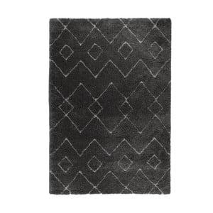 Tmavě šedý koberec Flair Rugs Imari, 80 x 150 cm