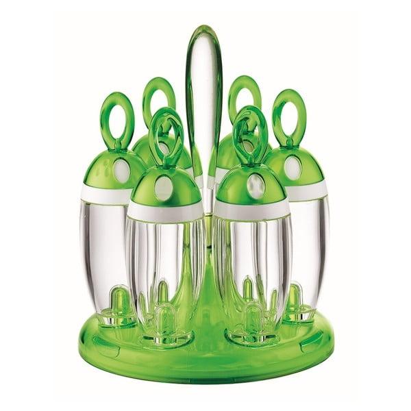 Zelený stojan s kořenkami Fratelli Guzzini Spice
