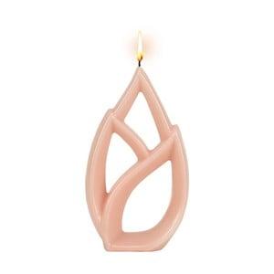 Růžová svíčka Alusi Livia Petit, 2,5hodiny hoření