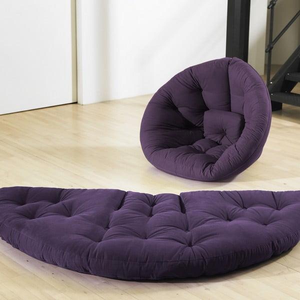 Rozkládací křeslo Karup Baby Nest Purple