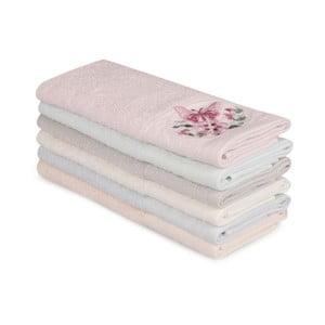 Sada 6 bavlněných ručníků Nakis Lucillo, 30 x 50 cm
