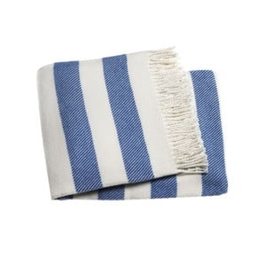 Sytě modrá deka Euromant Candy, 140x180cm