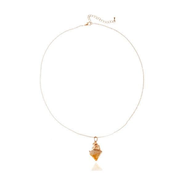 Angela aranyszínű nyaklánc - NOMA