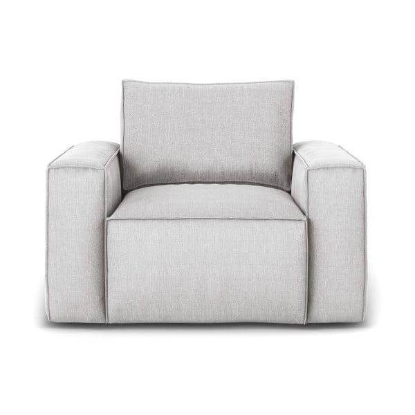 Miami világosszürke fotel - Cosmopolitan Design