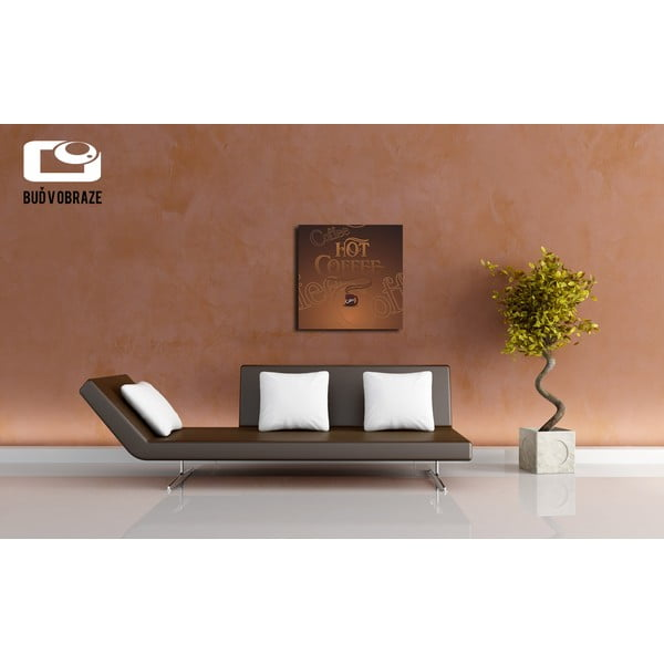 Obraz Hot Coffee, 40x40 cm