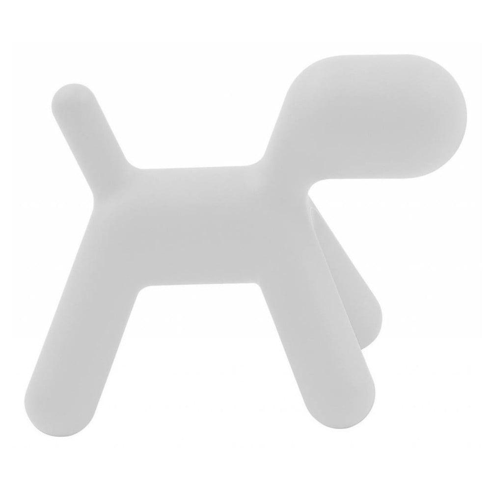 Bílá stolička Magis Puppy, délka 70 cm