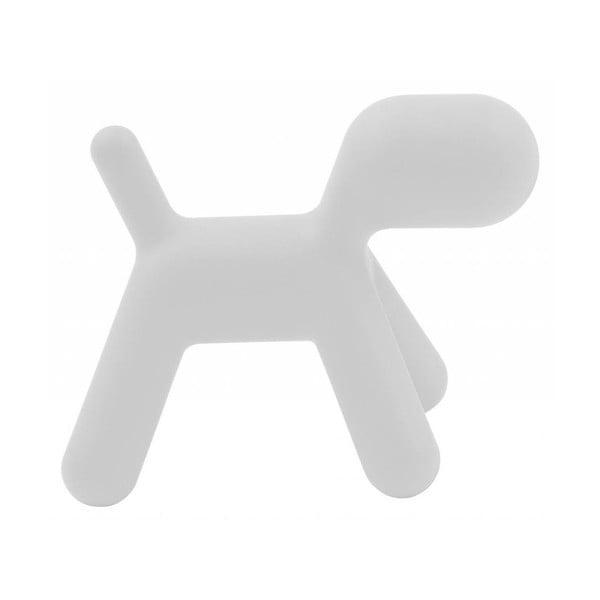Bílá stolička Magis Puppy, délka70 cm