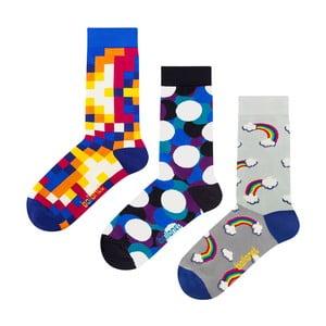 Dárková sada ponožek Ballonet Socks Bubbles, velikost 41-46