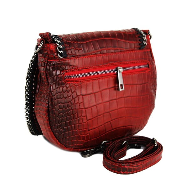 Kožená kabelka Valentina Rosso