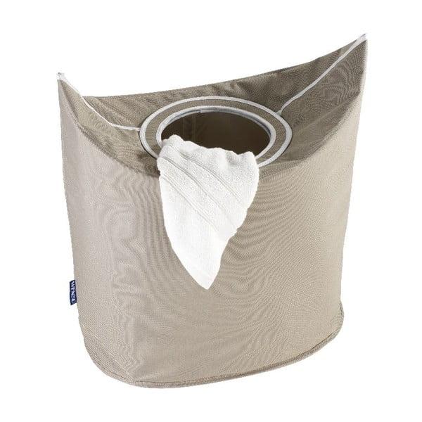 Béžový koš na prádlo Wenko Donkey, 48 l