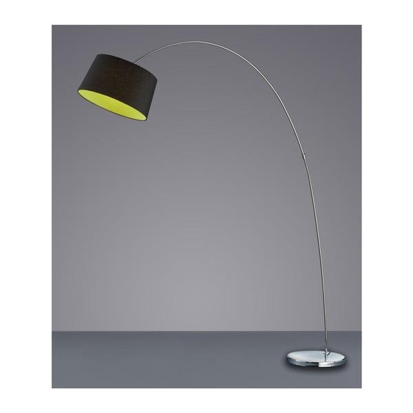 Stojací lampa Serie 4612, černá/zelená