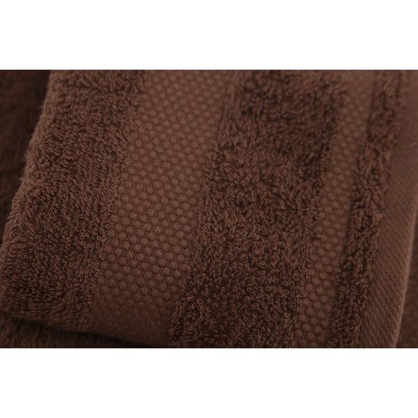Sada 2 ručníků Clio Dark Brown