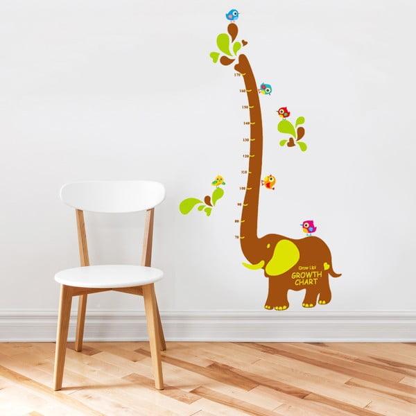 Samolepka na stěnu Elephant metr, 60x90 cm