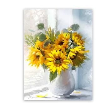 Tablou Styler Canvas Flowers Sunflowers, 60 x 80 cm de la Styler