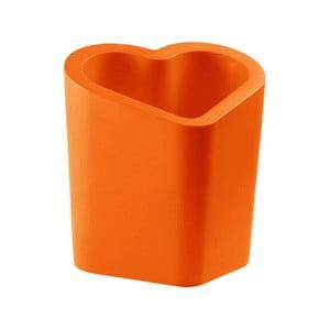 Oranžový květináč Slide Mon Amour, 80x90cm