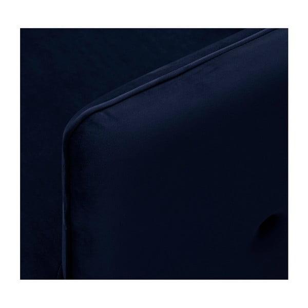 Tmavě modrá 3místná pohovka HARPER MAISON Dagna