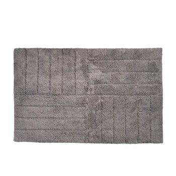 Covor baie din bumbac Zone Classic, 50 x 80 cm, gri maro de la Zone