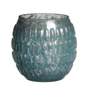 Stojan na svíčku Tavira Blue, 9 cm