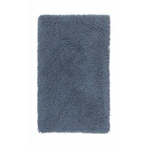 Ocelově modrá koupelnová předložka Aquanova Mezzo, 70 x 120 cm