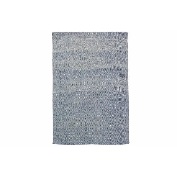 Ručně tkaný koberec Kilim Dimond Blue, 160x230 cm