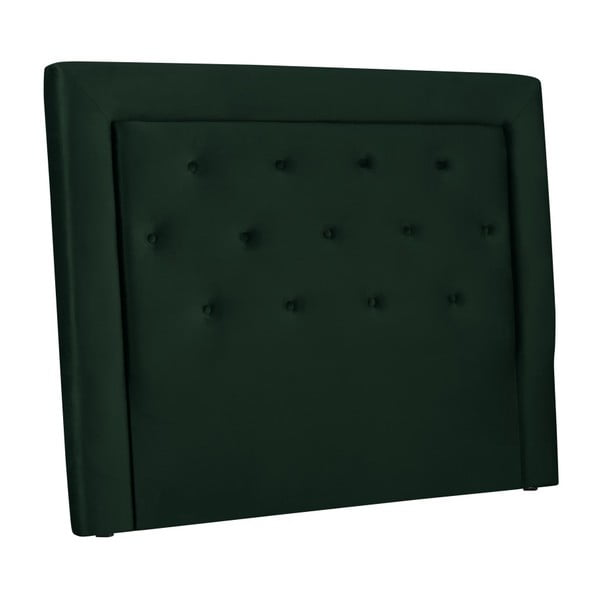 Tmavě zelené čelo postele Cosmopolitan Design Cloud, šířka 200cm
