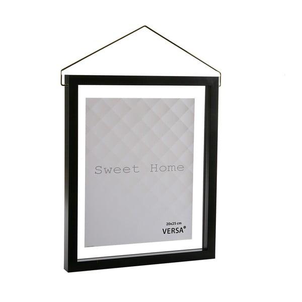 Ramă foto suspendată VERSA, pentru fotografii 20 x 25 cm, negru
