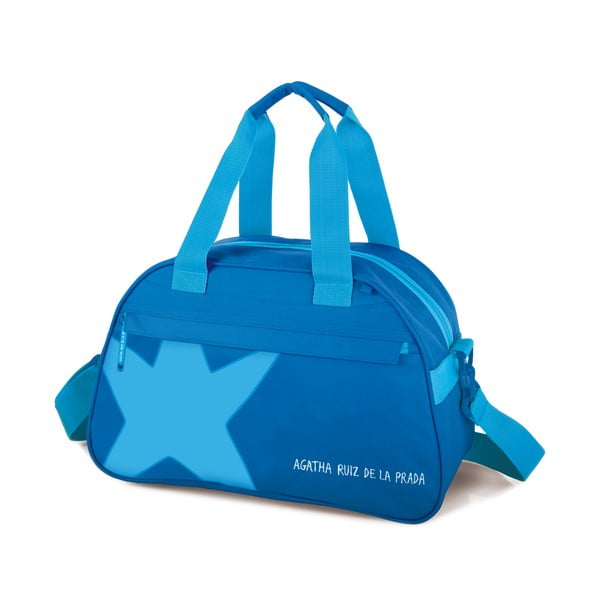 Cestovní taška Agatha, modrá