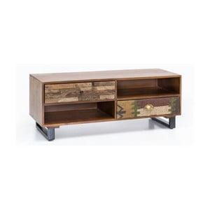 Comodă cu 2 sertare din lemn masiv de mango Skyport PATNA