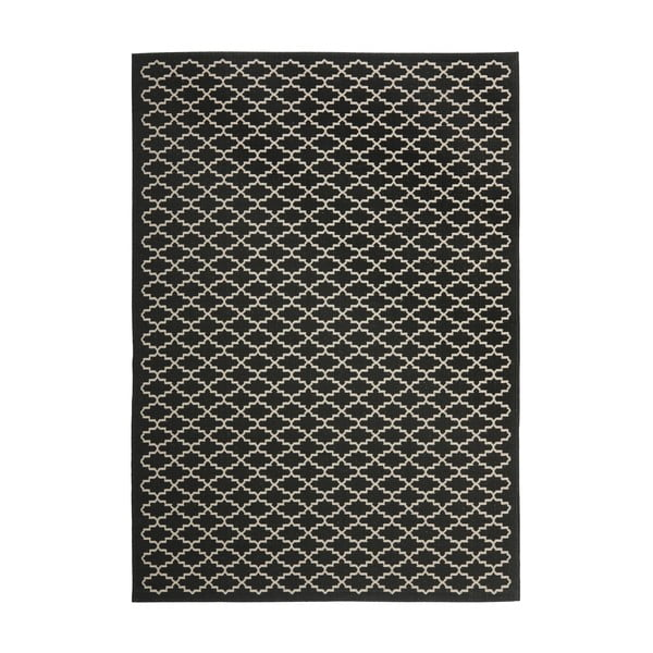 Koberec i na venkovní použití Gwen Black, 160x230 cm
