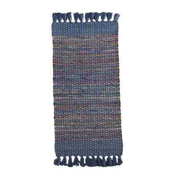 Covor Texturat Geese Ceylon, 120x 60 Cm, Albastru