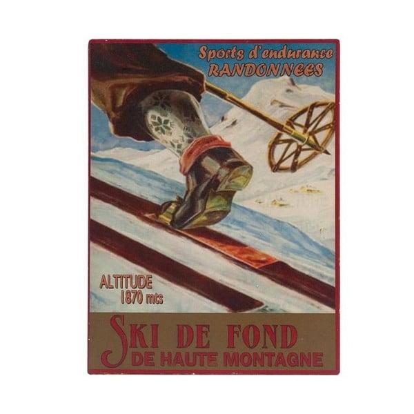 Ski de Font fali tábla, 25 x 33 cm - Antic Line