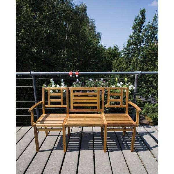 Skládací dřevěná lavice Chat