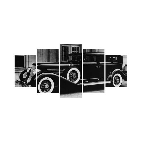 Vícedílný obraz Black&White no. 96, 100x50 cm