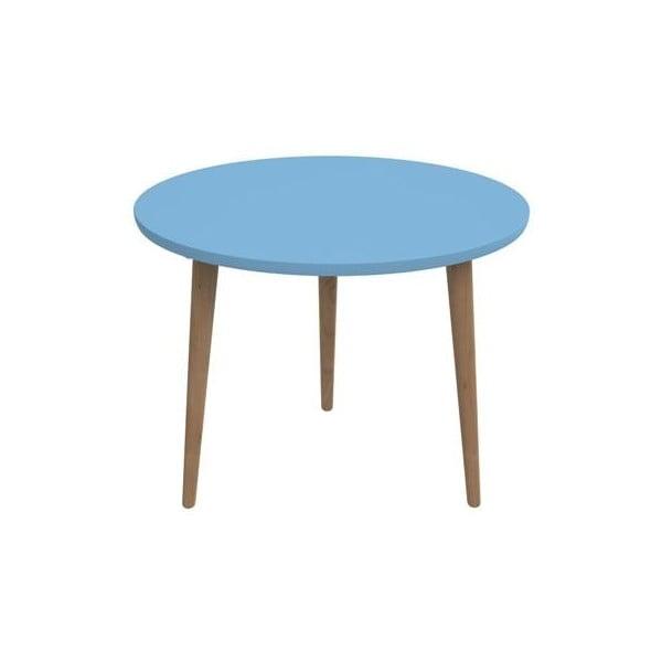 Modrý stůl D2 Bergen, 60 cm