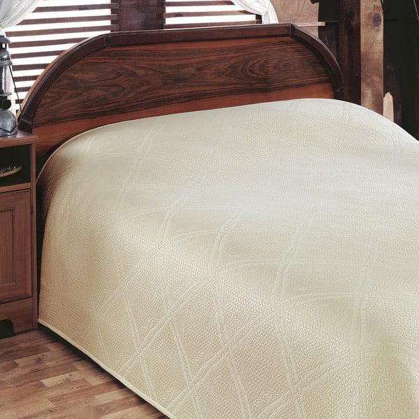 Přehoz přes postel Pike Cream, 200x230 cm