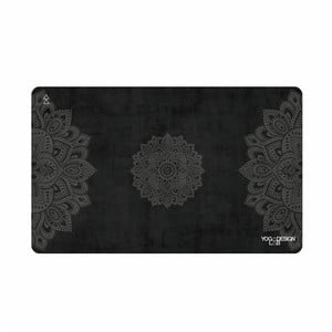 Malý ručník na jógu Yoga Design Lab Mandala Black