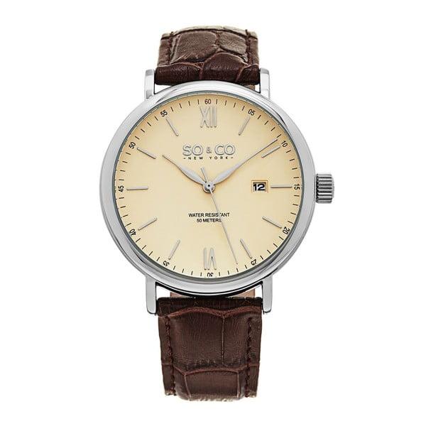 Pánské hodinky Madison Leather Brown
