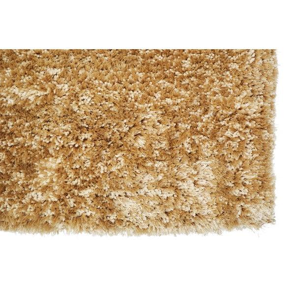 Ručně tuftovaný koberec Monaco Gold, 80x150cm
