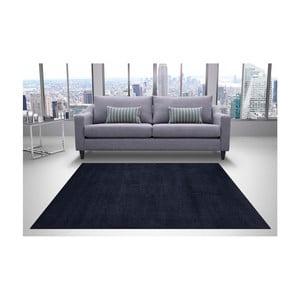 Černý koberec DECO CARPET Milano Unit Efes, 160 x 230 cm