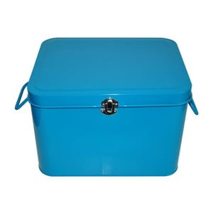 Plechový úložný box Waterquest, tmavě tyrkysový