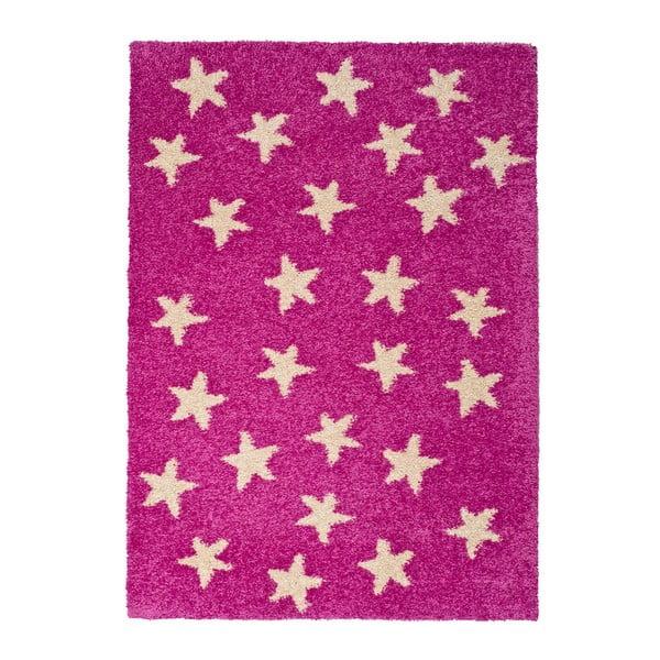 Dětský koberec Universal Cuore Rosa, 100x150cm