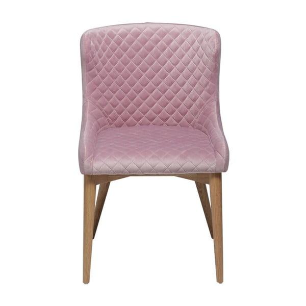 Pudrově růžová jídelní židle DAN-FORM Denmark Vetro